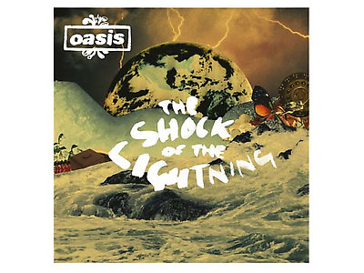 Oasis - Shock of the Lightning cover