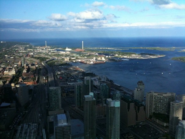 Horizons Restaurant Cn Tower. showcase at the CN Tower,